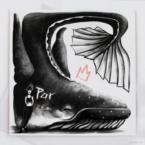 Inktober 2018 - #12 Whale